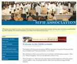 Screen shot image of the Masters of Foxhounds Association web site hosted by Ennovation Solutions