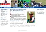 Screen shot image of the National Shooting Week web site